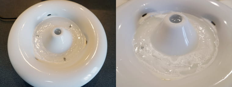 ピュアクリスタル専用の洗浄剤を使ってみた感想