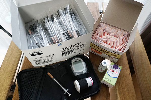 猫の糖尿病治療記録